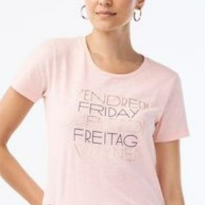 """J. Crew Collector Tee """"Friday"""" Graphic T-shirt"""